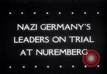 Image of Nuremberg Trials Nuremberg Germany, 1945, second 1 stock footage video 65675030216