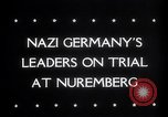 Image of Nuremberg Trials Nuremberg Germany, 1945, second 4 stock footage video 65675030216