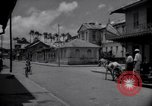 Image of Devils Island French Guiana street scene Devil's Island French Guiana, 1939, second 2 stock footage video 65675030225