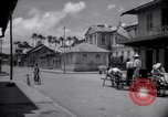 Image of Devils Island French Guiana street scene Devil's Island French Guiana, 1939, second 3 stock footage video 65675030225