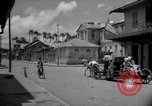 Image of Devils Island French Guiana street scene Devil's Island French Guiana, 1939, second 4 stock footage video 65675030225