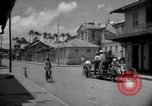 Image of Devils Island French Guiana street scene Devil's Island French Guiana, 1939, second 5 stock footage video 65675030225