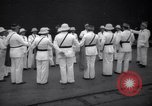 Image of prisoner's inspection Devil's Island French Guiana, 1939, second 2 stock footage video 65675030231