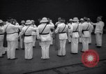 Image of prisoner's inspection Devil's Island French Guiana, 1939, second 3 stock footage video 65675030231