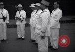 Image of prisoner's inspection Devil's Island French Guiana, 1939, second 11 stock footage video 65675030231