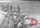 Image of Americans practice firing machine guns Gondrecourt France, 1917, second 1 stock footage video 65675030260