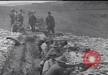 Image of Americans practice firing machine guns Gondrecourt France, 1917, second 7 stock footage video 65675030260