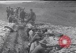 Image of Americans practice firing machine guns Gondrecourt France, 1917, second 8 stock footage video 65675030260
