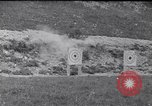 Image of Americans practice firing machine guns Gondrecourt France, 1917, second 11 stock footage video 65675030260