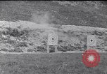 Image of Americans practice firing machine guns Gondrecourt France, 1917, second 12 stock footage video 65675030260