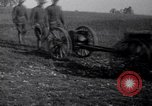 Image of Vickers Q.F. Mark II 40mm Gun. France, 1917, second 8 stock footage video 65675030263