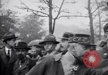 Image of English wrestler exhibition at Tuileries Gardens Paris France, 1919, second 10 stock footage video 65675030266