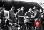 Image of American soldiers being fed at a field kitchen France, 1918, second 3 stock footage video 65675030276