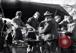 Image of American soldiers being fed at a field kitchen France, 1918, second 5 stock footage video 65675030276