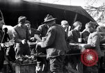 Image of American soldiers being fed at a field kitchen France, 1918, second 6 stock footage video 65675030276