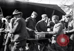 Image of American soldiers being fed at a field kitchen France, 1918, second 7 stock footage video 65675030276