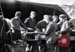 Image of American soldiers being fed at a field kitchen France, 1918, second 8 stock footage video 65675030276