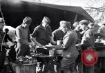 Image of American soldiers being fed at a field kitchen France, 1918, second 10 stock footage video 65675030276