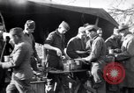 Image of American soldiers being fed at a field kitchen France, 1918, second 12 stock footage video 65675030276