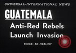 Image of rebellion Guatemala, 1954, second 3 stock footage video 65675030287