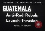Image of rebellion Guatemala, 1954, second 4 stock footage video 65675030287