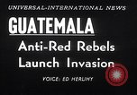 Image of rebellion Guatemala, 1954, second 5 stock footage video 65675030287