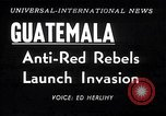 Image of rebellion Guatemala, 1954, second 6 stock footage video 65675030287