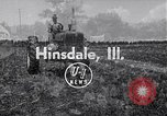Image of tractor powered generator Hinsdale Illinois USA, 1954, second 1 stock footage video 65675030289