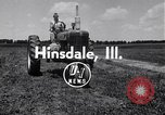 Image of tractor powered generator Hinsdale Illinois USA, 1954, second 2 stock footage video 65675030289