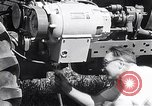 Image of tractor powered generator Hinsdale Illinois USA, 1954, second 10 stock footage video 65675030289