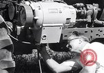 Image of tractor powered generator Hinsdale Illinois USA, 1954, second 11 stock footage video 65675030289