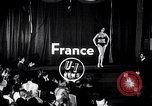Image of Miss Europe Contest France, 1954, second 1 stock footage video 65675030292