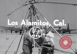 Image of rocket powered helicopter Los Alamitos California USA, 1954, second 2 stock footage video 65675030297