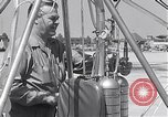 Image of rocket powered helicopter Los Alamitos California USA, 1954, second 9 stock footage video 65675030297