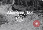 Image of cargo carrier Aberdeen Maryland USA, 1954, second 2 stock footage video 65675030299