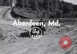 Image of cargo carrier Aberdeen Maryland USA, 1954, second 3 stock footage video 65675030299