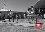 Image of 22nd Swiss American Gymnastics San Francisco California USA, 1954, second 6 stock footage video 65675030300