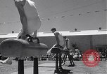 Image of 22nd Swiss American Gymnastics San Francisco California USA, 1954, second 12 stock footage video 65675030300