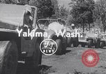Image of World Jeeping Championship Yakima Washington USA, 1954, second 1 stock footage video 65675030302