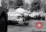 Image of World Jeeping Championship Yakima Washington USA, 1954, second 2 stock footage video 65675030302