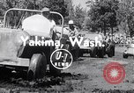 Image of World Jeeping Championship Yakima Washington USA, 1954, second 3 stock footage video 65675030302