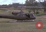 Image of UH 1D helicopter Vietnam, 1966, second 8 stock footage video 65675030314