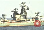 Image of Russian Kresta Class cruiser Sevastopol Mediterranean Sea, 1969, second 1 stock footage video 65675030345