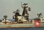 Image of Russian Kresta Class cruiser Sevastopol Mediterranean Sea, 1969, second 6 stock footage video 65675030345