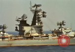 Image of Russian Kresta Class cruiser Sevastopol Mediterranean Sea, 1969, second 7 stock footage video 65675030345