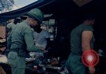 Image of sandbagged bunker Vietnam, 1965, second 11 stock footage video 65675030365