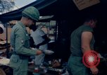 Image of sandbagged bunker Vietnam, 1965, second 12 stock footage video 65675030365
