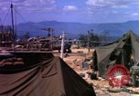 Image of attacked signal site Ankhe South Vietnam, 1966, second 9 stock footage video 65675030371