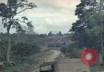 Image of 1st cavalry Division tent area Ankhe South Vietnam, 1965, second 7 stock footage video 65675030375