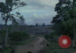 Image of 1st cavalry Division tent area Ankhe South Vietnam, 1965, second 8 stock footage video 65675030375